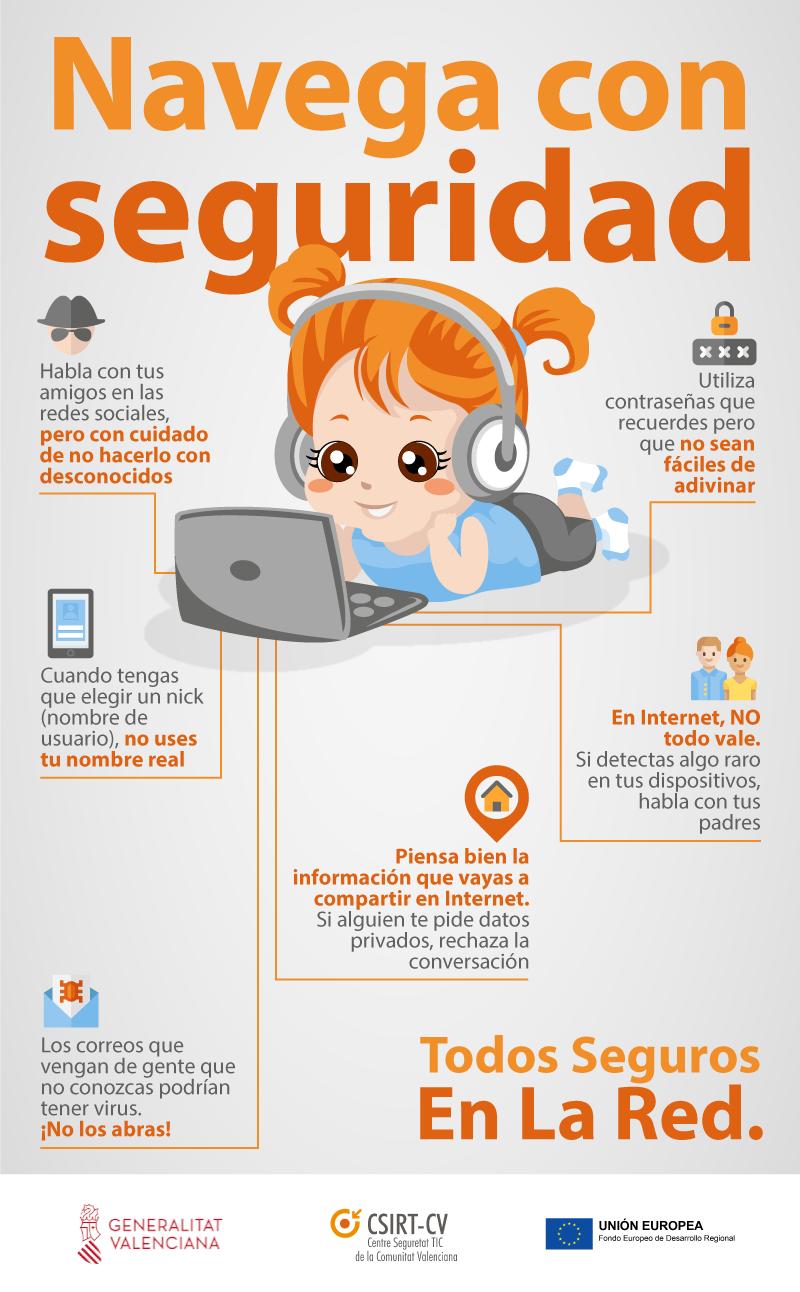 CSIRT-CV celebra el Día del Niño con una nueva infografía ...